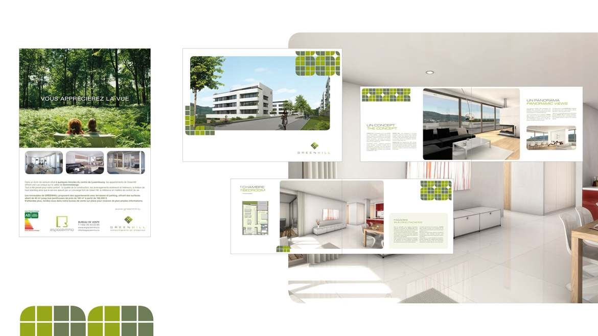 CAMPAGNE, BROCHURE GREENHILL